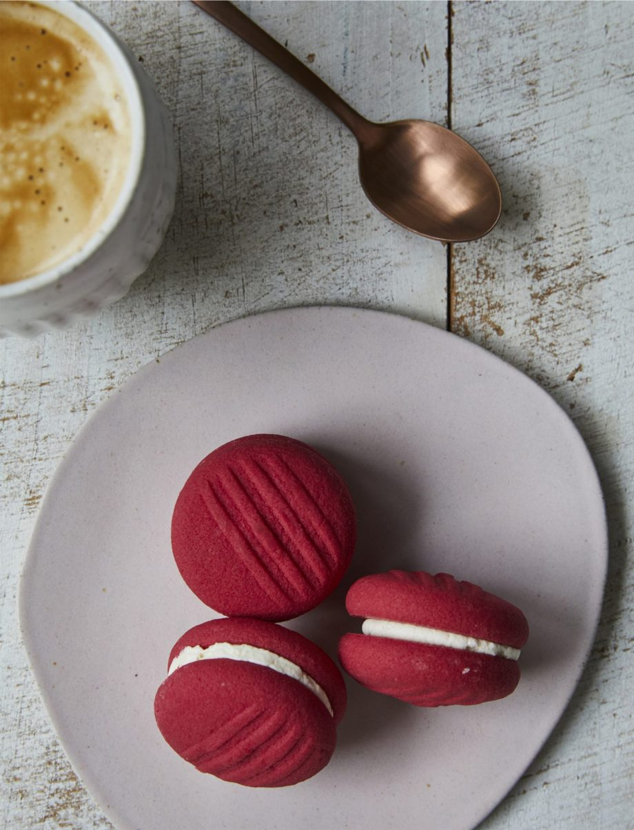 Raspberry Bliss Mini Melting Moments cookie pantry pack