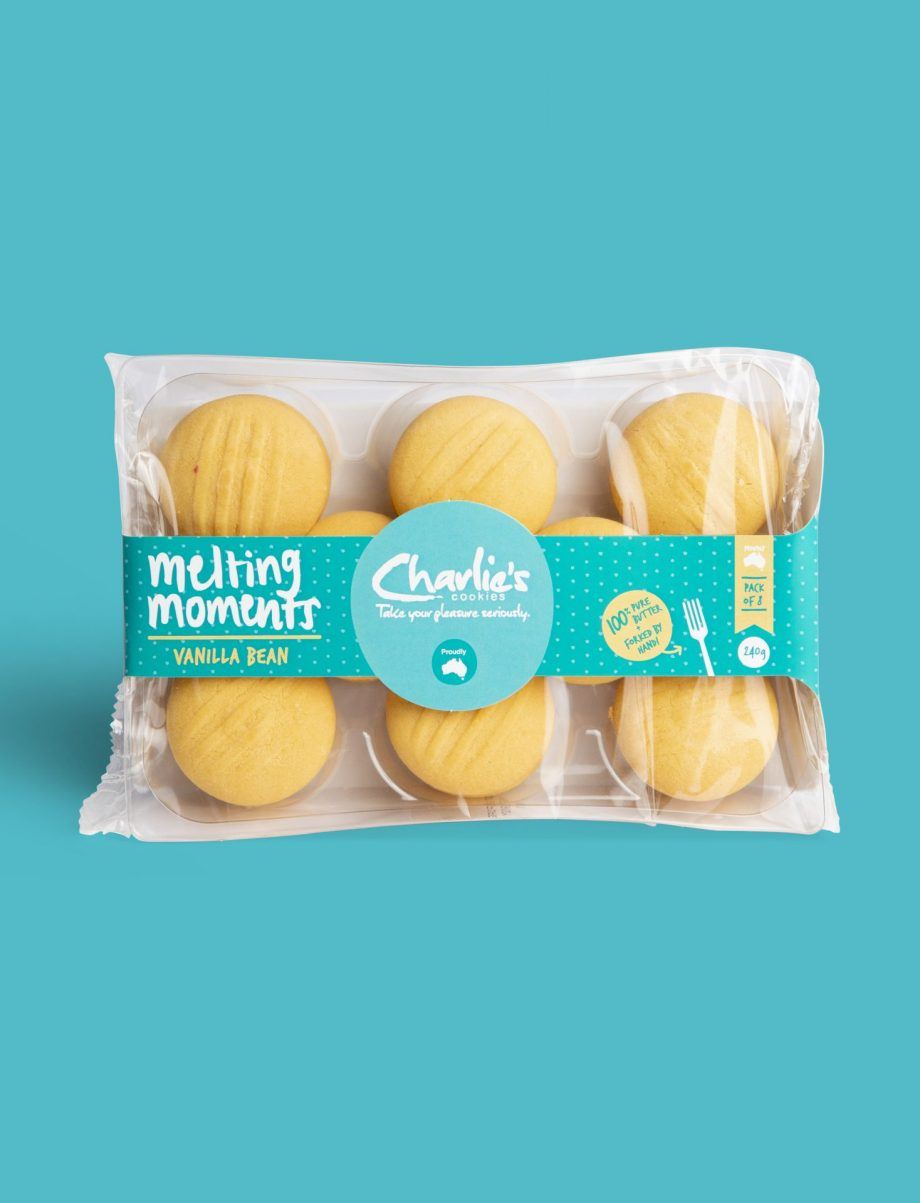 Vanilla Bean Melting Moments Biscuits 240g Pantry Pack