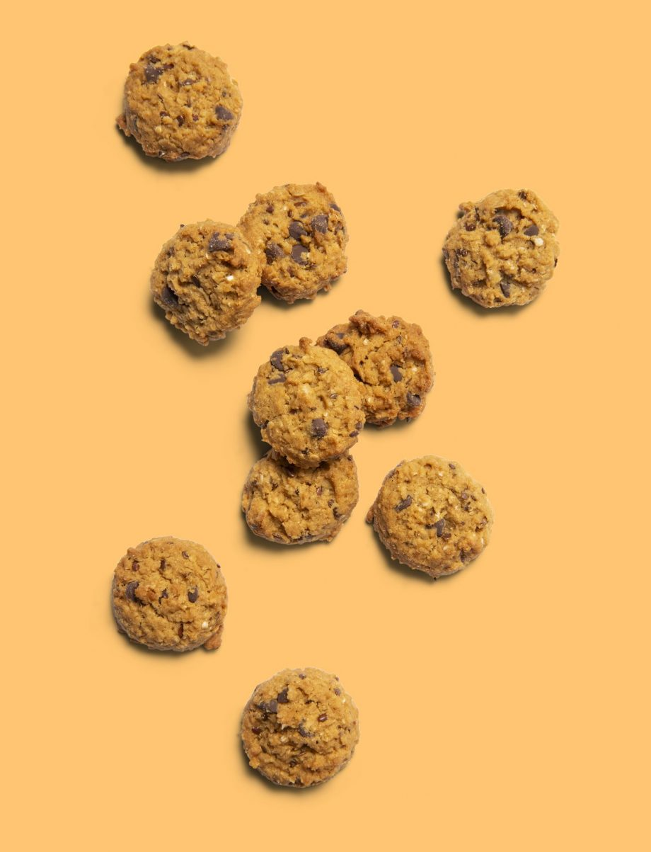 Plant-based Gut Healthy Chocolate Chip Bite Size Biscuits (4kg carton)
