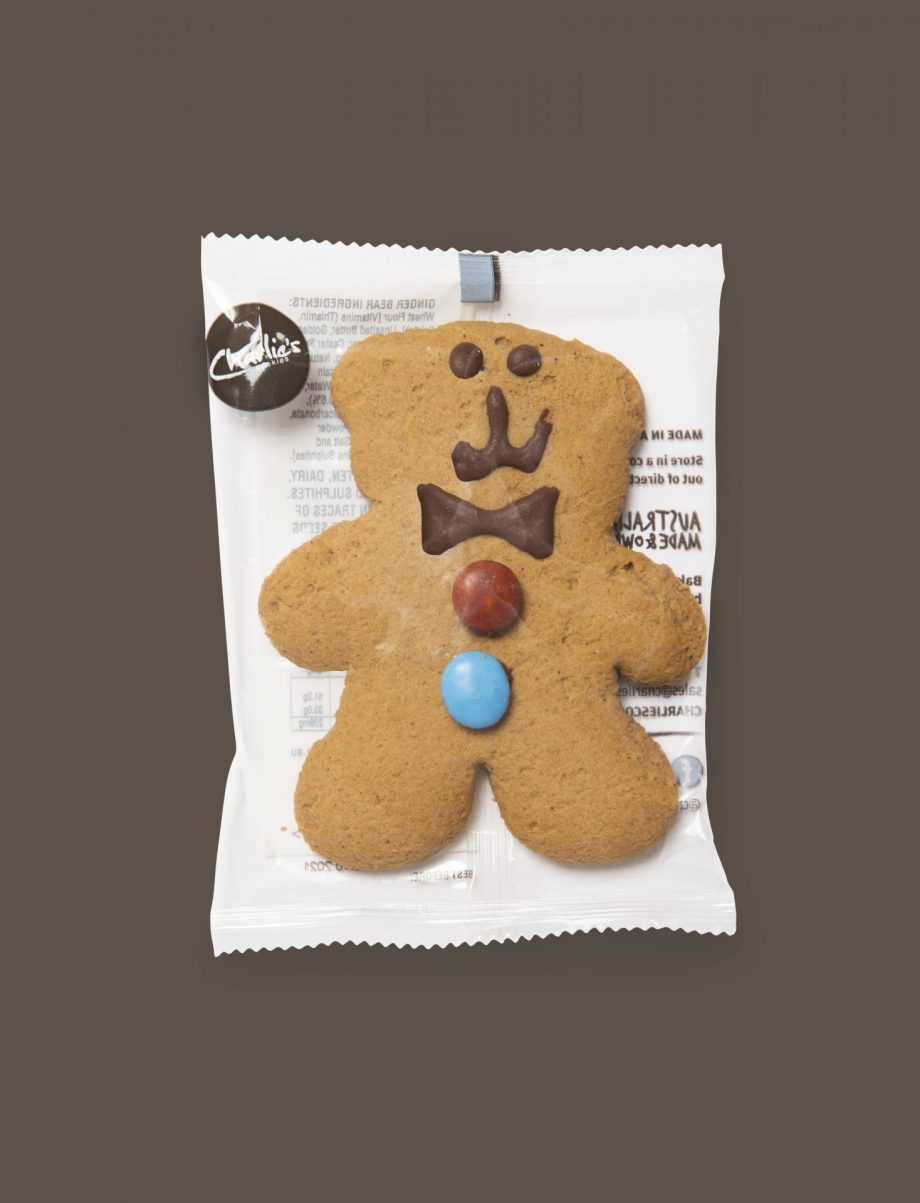Gingerbread Bear Biscuits 50g Individually Wrapped (24 pieces)