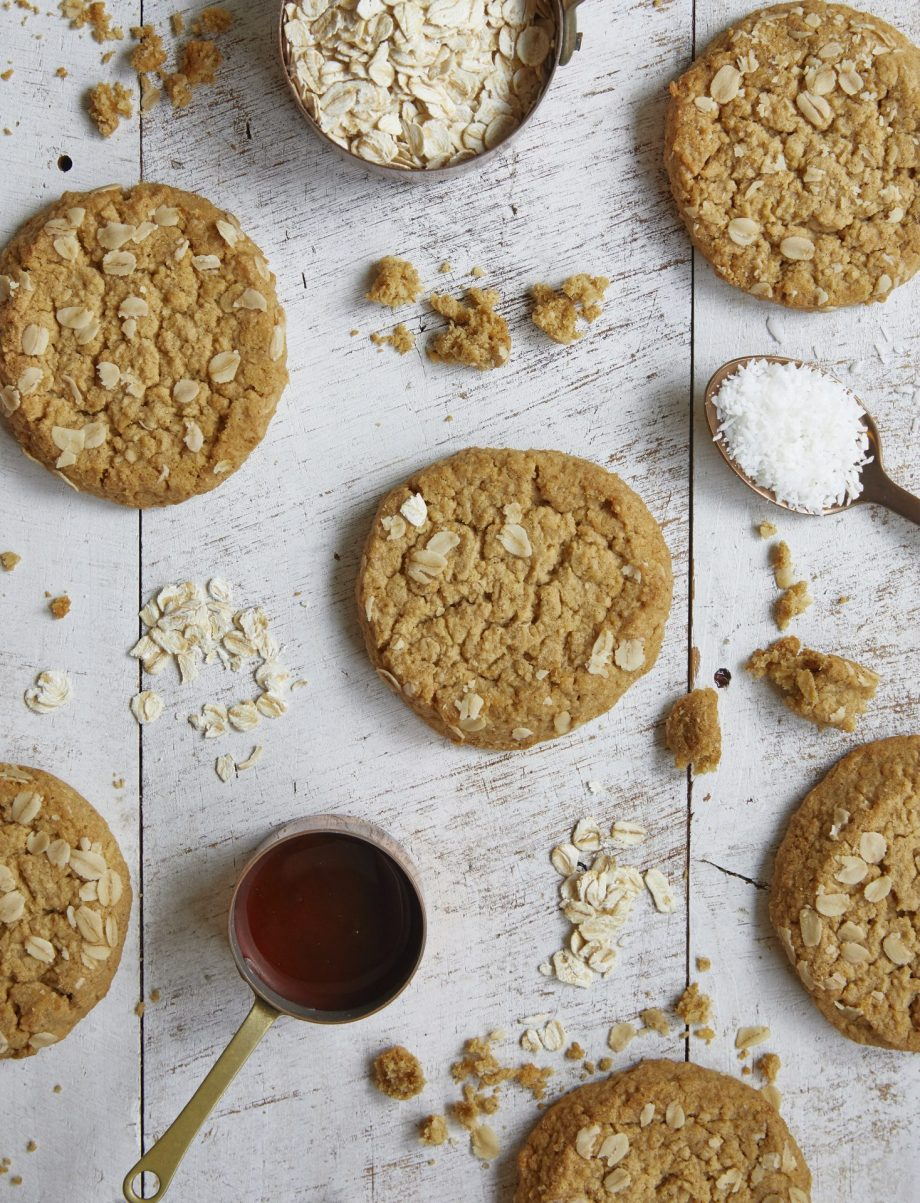 Anzac Biscuit Cafe Cookie